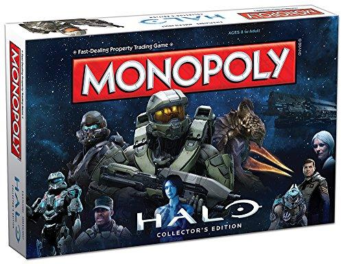 MONOPOLY: Halo Collector's Edition Board Game (Halo Master Chief Collectors Edition)