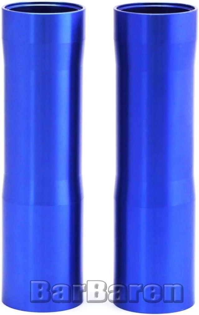 Areyourshop Caches de tube de fourche avant en aluminium CNC pour Yamaha MT-07 FZ-07 2014-2017