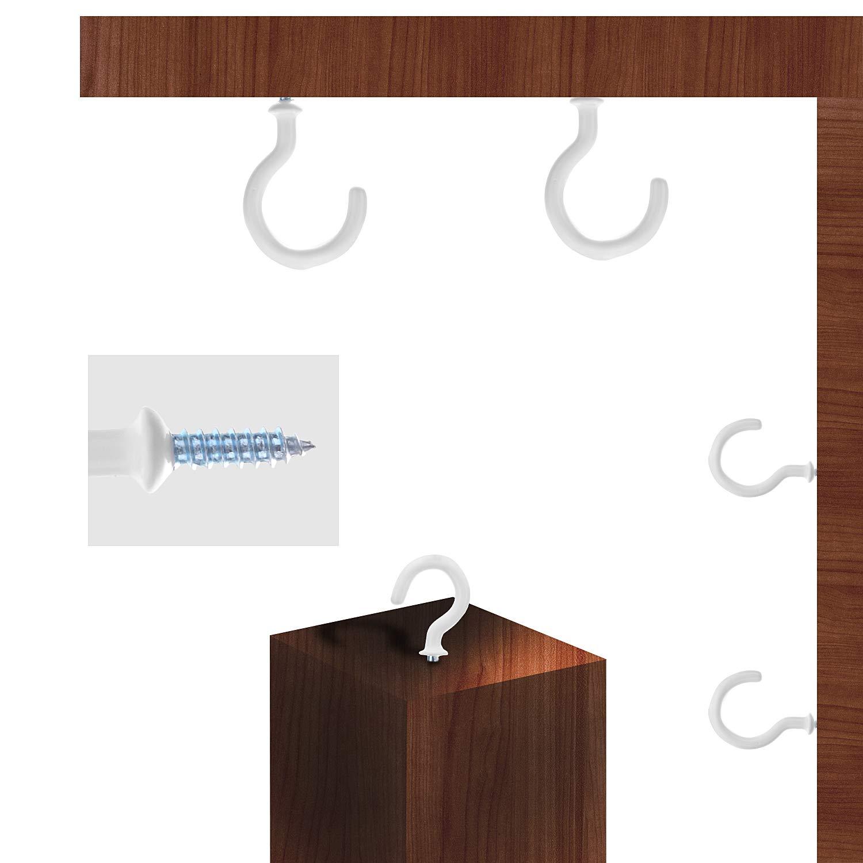 /Ösenhaken Deckenhaken f/ür Tassen Tasse Haken Halter Kit 70 St/ück Hakenschrauben Schraubhaken Sortiment Deckenhaken Set Schraubhaken Cup Haken,W/äscheleinenhaken Haushaltsgegenst/ände