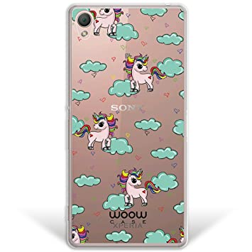WoowCase Funda Sony Xperia Z3, [Hybrid] Unicornios Arcoiris ...