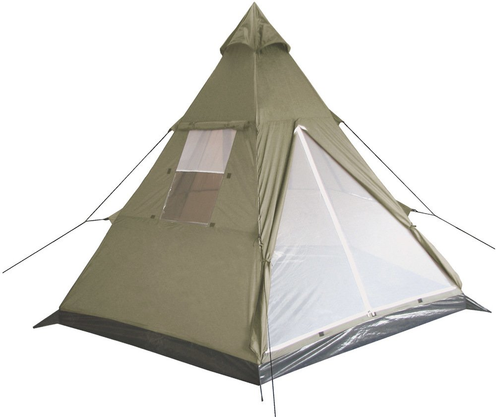 MFH Tente indienne Tipi Olive