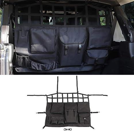 Passenger Storage Tray Organizer Grab Handle Accessory Box for Jeep Wrangler 2011-2018 JK JKU 2-door//4-door Car Co-Pilot Storage Box