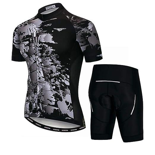 Manga Corta Ciclismo Camisetas Conjuntos Ropa De Bicicleta De ...