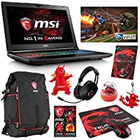 MSI GT62VR DOMINATOR-240 Select Edition (i7-7700HQ, 64GB RAM, 512GB NVMe SSD + 1TB HDD, NVIDIA GTX 1060 6GB, 15.6 Full HD, G-Sync, Windows 10) VR Ready Gaming Notebook