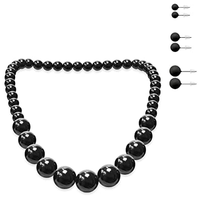 Ohrringe zur perlenkette