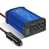 300W Power Inverter DC 12V to 110V AC Car Charger