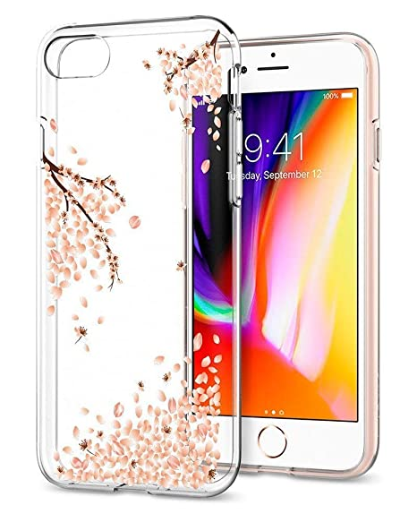 coque iphone 7 spigen liquid crystal