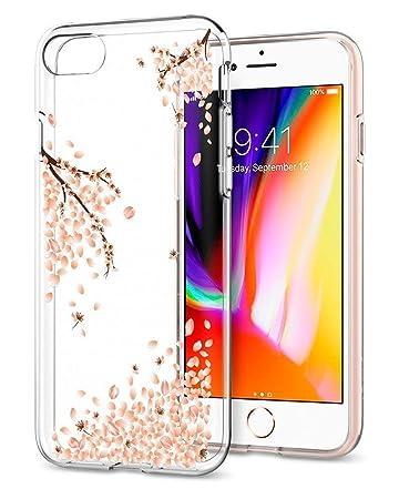 dde26b50d4 【Spigen】 スマホケース iPhone8 ケース / iPhone7 ケース 対応 TPU 超薄型 超軽量