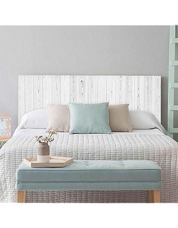 setecientosgramos Cabecero Cama PVC | Whitewood | Varias Medidas | Fácil colocación | Decoración Dormitorio
