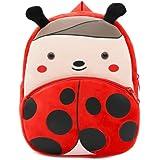 Cute Toddler Backpack Toddler Bag Plush Animal Cartoon Mini Travel Bag for Baby Girl Boy 1-6 Years