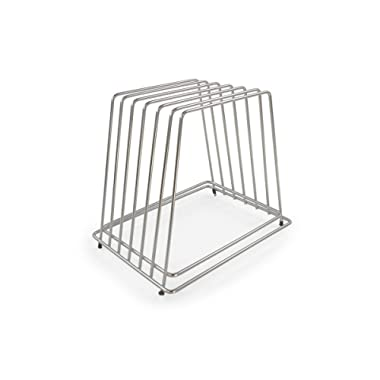 Commercial Cutting Board Rack - Stainless Steel, No Rusting - Holds 6 Full Size Boards