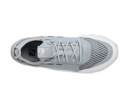 8e85176d9be3ed Puma RS-0 Optic Men s Leather Silver Shoes-47  Buy Online at Low Prices in  India - Amazon.in