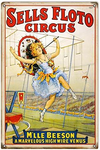 Reproduction Sells Floto Circus Sign