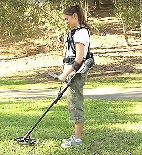 Amazon.com : shrxy Metal Detector Generic Detecting Harness Sling Easy Swing Limb arm Saver Support Garden Metal Detector : Garden & Outdoor