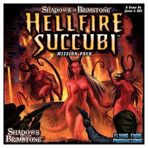 Shadows of Brimstone: Hellfire Succubi Mission Pack [並行輸入品] B07SDBGP99