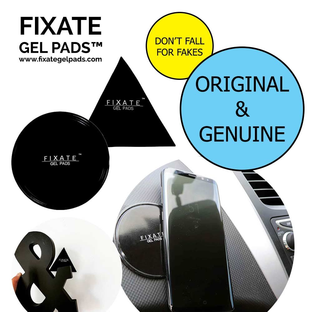 Fixate Gel Pads Original Pack : Official - Don't BE Fooled by IMITATIONS 1001