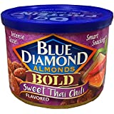 Blue Diamond Almonds Bold Sweet Thai Chili (Total of 12 / 6-Ounce Cans)