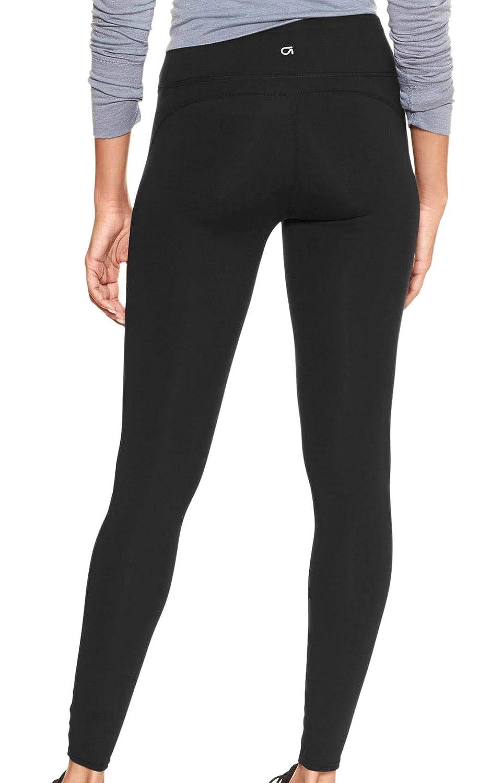 b33cd83cf2 GAP Womens GapFit Leggings, True Black at Amazon Women's Clothing store: