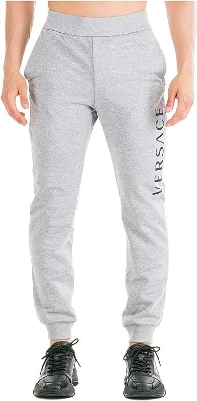 Versace Hombre Pantalones Deportivos Grigio S Amazon Es Ropa Y Accesorios