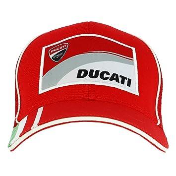 Ducati Corse Moto GP Racing Trucker Baseball Gorra Rojo Oficial 2018