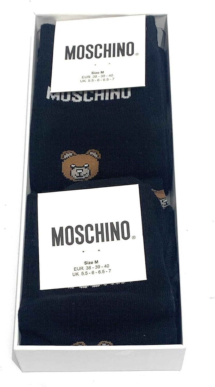 Moschino Underwear A 3422 8201 Calzini Uomo Nero XL