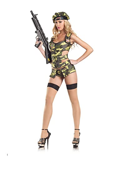 9b8dd212b08 Be Wicked Army Brat Costume