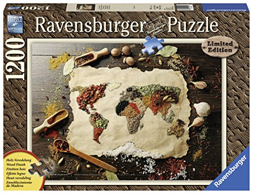 Ravensburger 19915 - Würzige Weltkarte