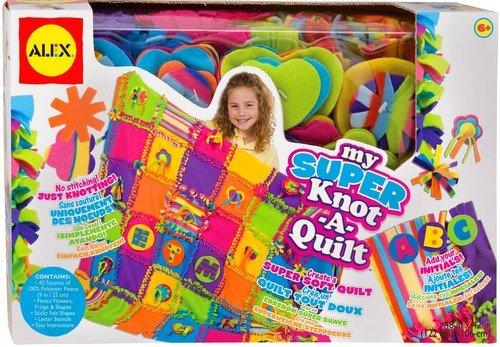 ALEX Toys Craft Super Knot A Quilt