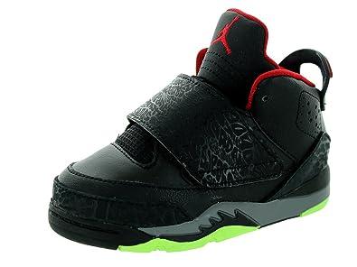 ae3e9b767e6f Amazon.com  Nike Jordan Toddlers Jordan Son of BT Black Gym Red Cl ...