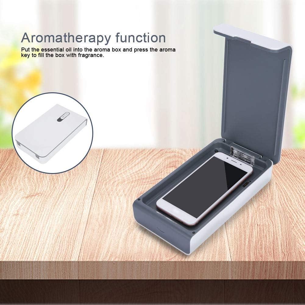 02 Cimenn Mehrzweck-UV-Licht-Sterilisator Tragbare Handy-Zahnb/ürste Unterw/äsche-Desinfektionsbox