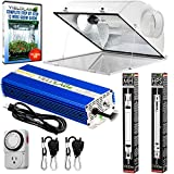 Yield Lab Pro Series HPS+MH 1000W Air Cool Hood Double Ended Complete Grow Light Kit