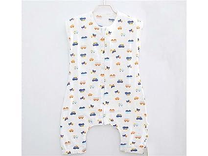 AHIMITSU Saco de Dormir de Noche Bebé recién Nacido Que Imprime el Saco de Dormir con