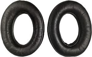 Sheepskin Replacement Ear Pads Earpads for Bose QuietComfort QC 2 15 25 35 Ear Cushion for QC2 QC15 QC25 QC35 SoundLink SoundTrue Around-Ear II AE2 (Black)