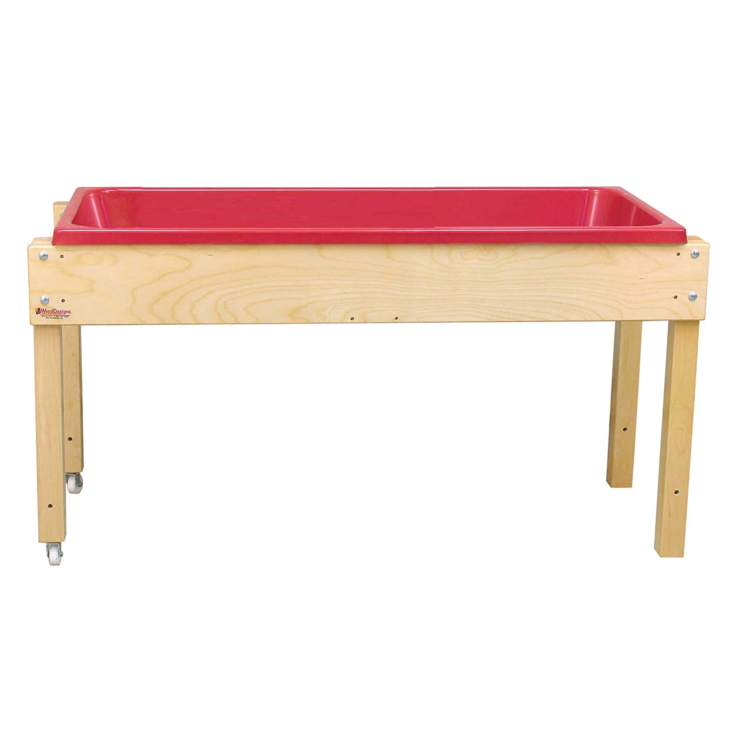 Wood Designs WD11850 Sand and Water Table without Lid, 24 x 46 x 17
