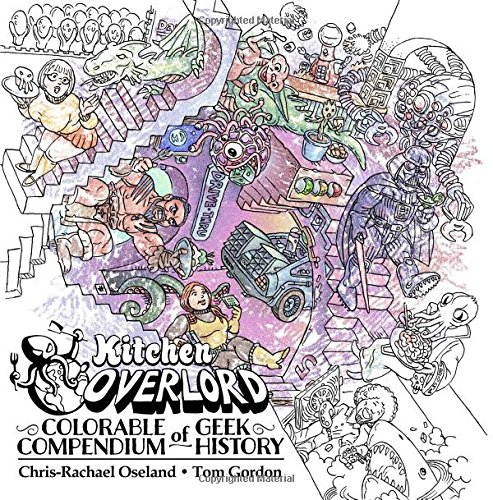 Kitchen Overlords Colorable Compendium History