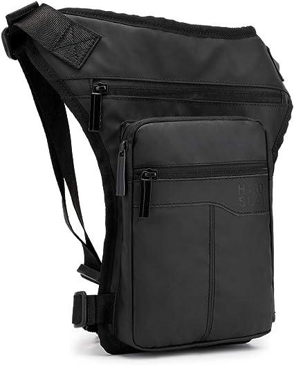 Waterproof Oxford Men Drop Leg Bag Riding Motorcycle Thigh Bag Waist Fanny Packs