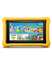 """Fire 7 Kids Edition Tablet, 7"""" Display, 16 GB, Yellow Kid-Proof Case (Previous Generation - 7th)"""