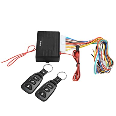 Rupse Universal Car Alarm Remote Control System Central Door Lock