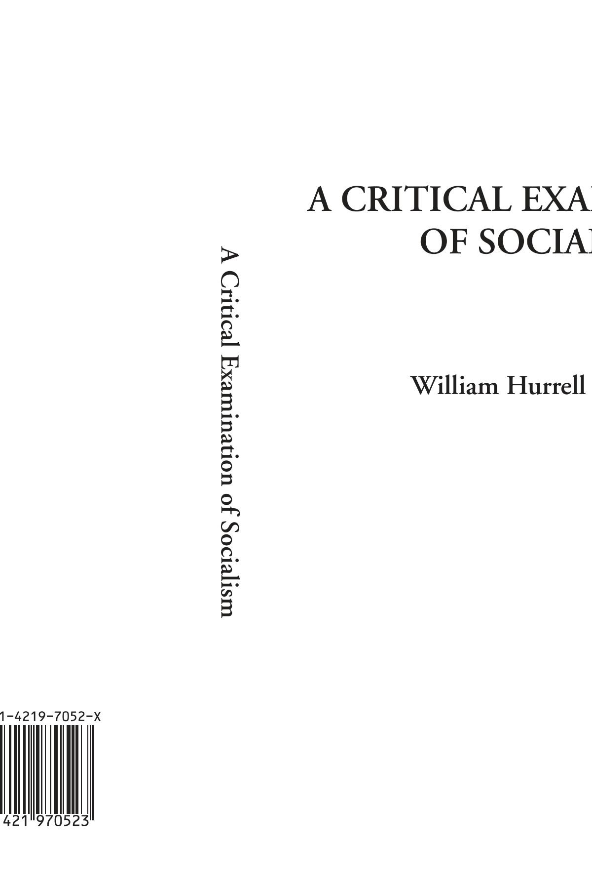 Download A Critical Examination of Socialism PDF