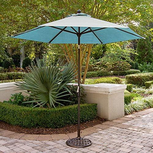 Hanover TRADUMB-11-B 11 Ft Blue Traditions 11' Table Umbrella
