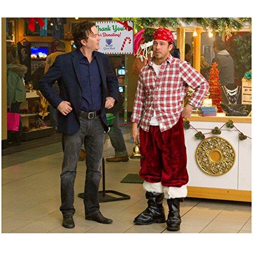 Leverage (2008 - 2012) 8x10 Inch Photo Christian Kane Santa Pants Next to Timothy Hutton at Mall - Christian Mall