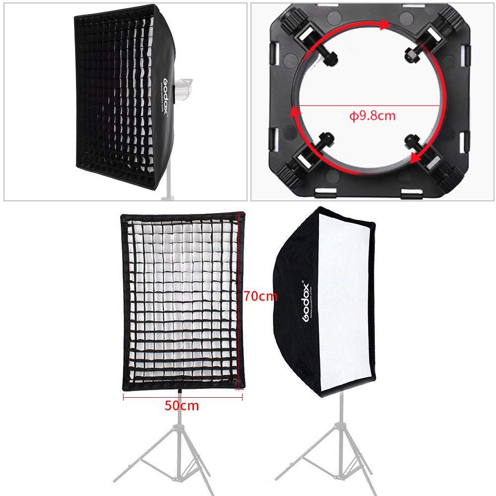 GODOX Softbox 120cm Octagonal Softbox Reflector Umbrella Softbox Port/átil con Bowens para Speedlite Blitz Studio Monolight Flash Unit Portrait SB-UE120CM