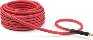 product image for TEKTON 46337 3/8-Inch I.D. by 50-Foot 250 PSI Rubber Air Hose with 1/4-Inch MPT Ends and Bend Restrictors