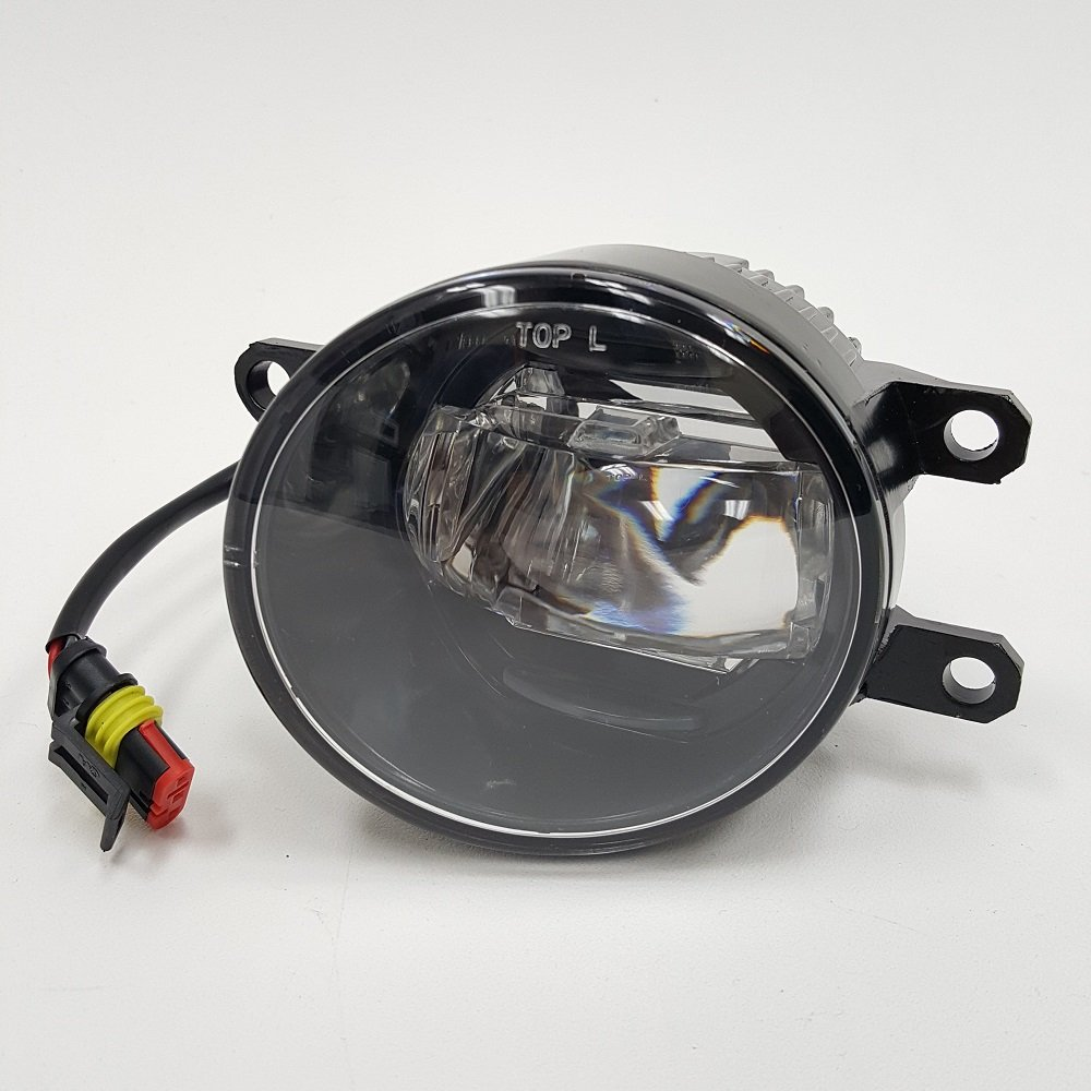 2 In 1 Led Front Bumper Daytime Running Drl Fog Light Vz Wiring Diagram Set For Toyota 2006 2012 Rav4 2011 2016 Sienna 2008 2015 Lexus With Switch Wires Relay