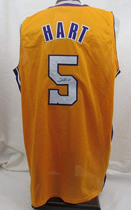 super popular 20616 4a419 Josh Hart Autographed Signed Lakers Jersey - JSA Certified ...