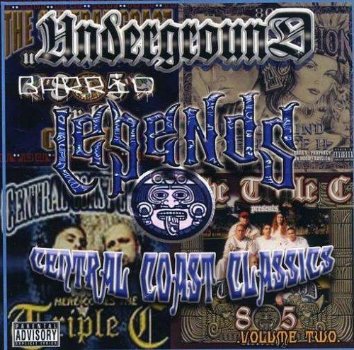 Underground Barrio Legends Vol. Central Indefinitely 2 Coast Dedication Classics