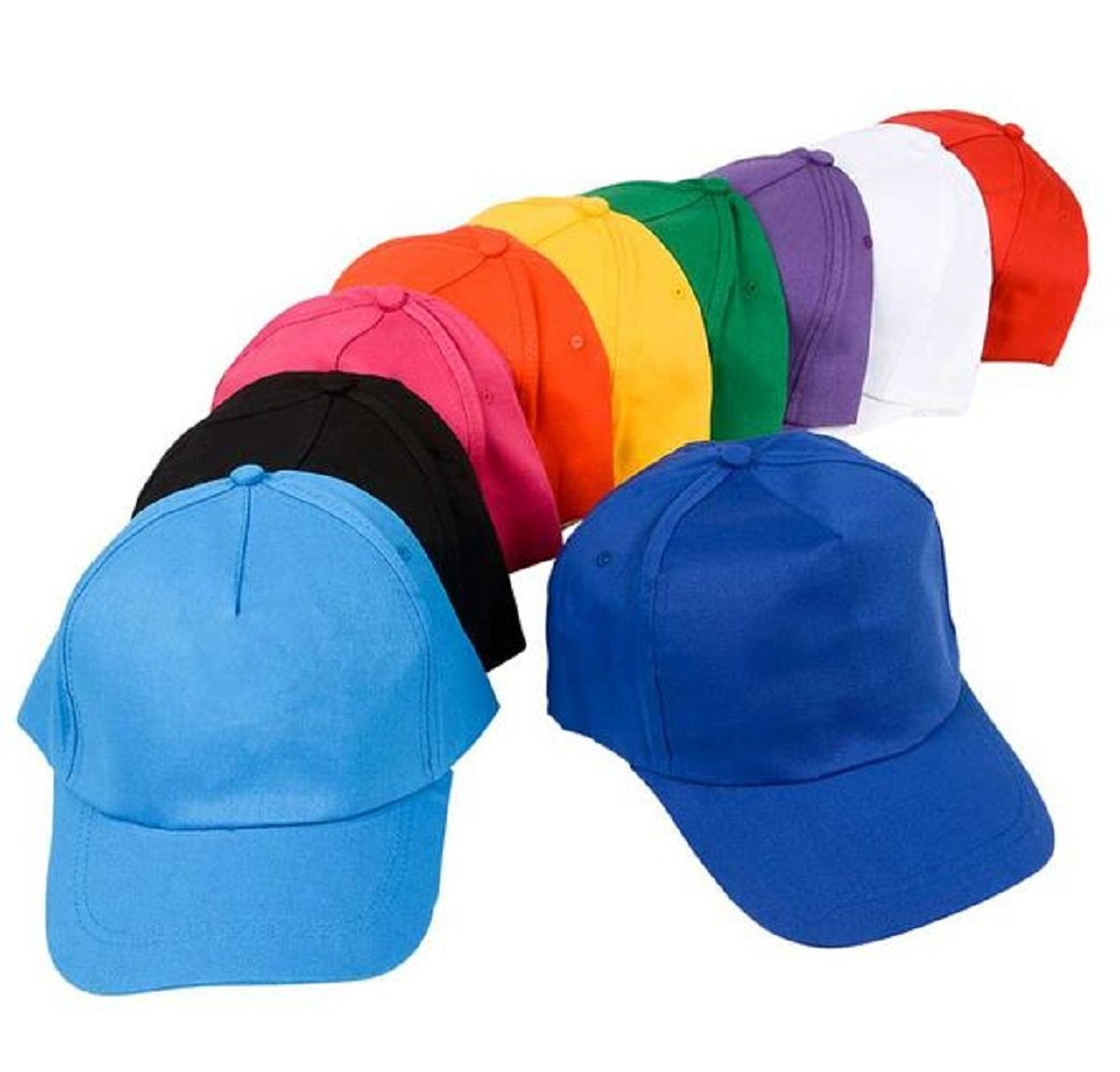 48 piece Colored Baseball Cap Assortment by RIN001 (Image #1)