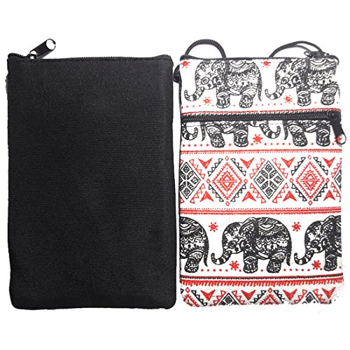 Hmong Red Tribe Crossbody Black Bag EB3 Hill Thai Elephant Hippy qzXtXwxv