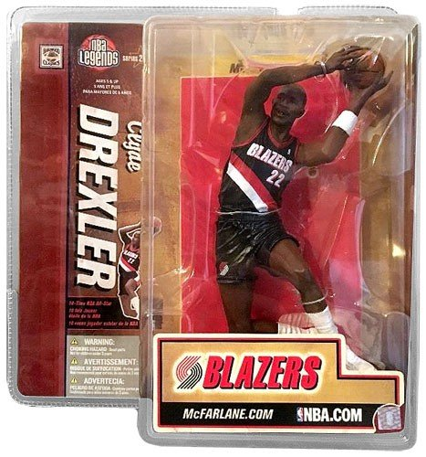 McFarlane Toys 6'' NBA Legends Series 2 - Clyde Drexler by McFarlane