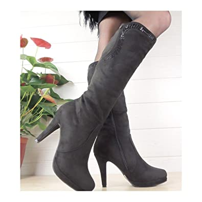 Fashion&Bella, ... Damen Stiefel & Stiefeletten, schwarz schwarz ... Fashion&Bella, 5ddc09